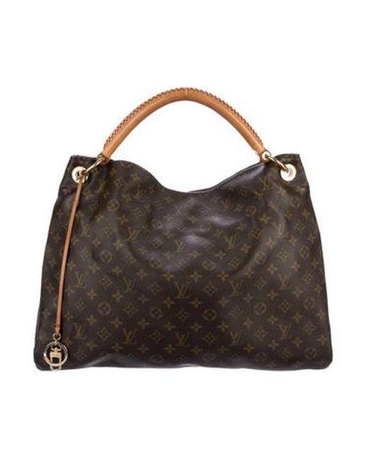 ea6597be98ca Louis Vuitton - Natural Monogram Artsy Mm Brown - Lyst ...