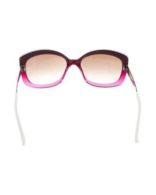 e44fcab973 ... Dior - Purple Extase 2 Sunglasses - Lyst ...