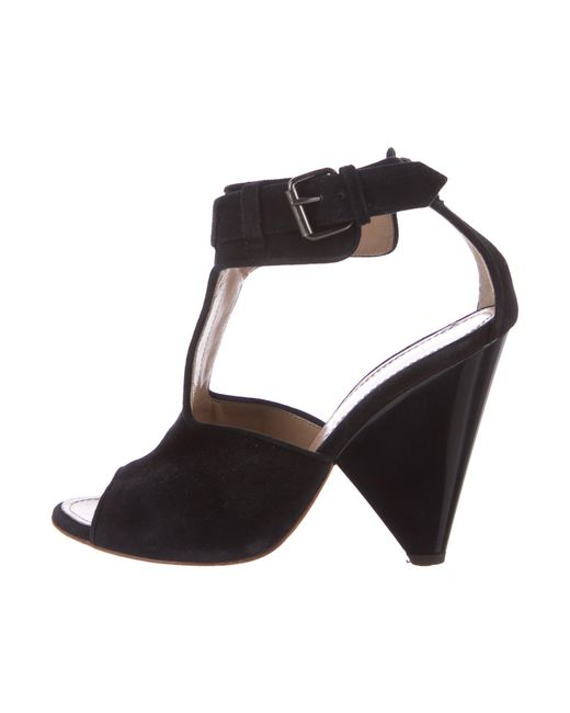 discount find great Proenza Schouler Suede Cage Sandals pay with visa for sale cheap low price fee shipping excellent online buy cheap 100% original 4D0WjDmI9W