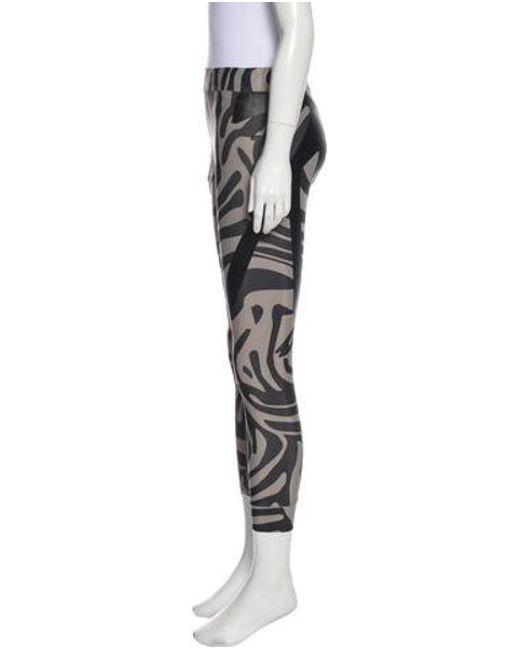 e8b59d3ef89cb7 ... Adidas By Stella McCartney - Gray Mid-rise Athletic Leggings Grey - Lyst  ...