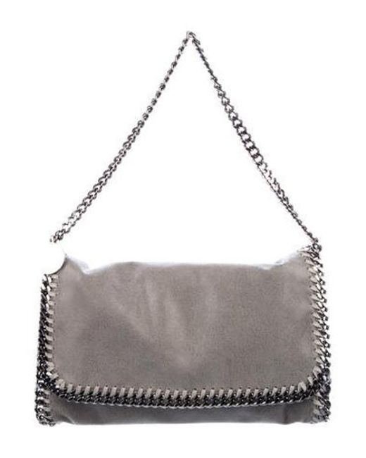 d6a99efeada6 Stella McCartney - Gray Falabella Shoulder Bag Grey - Lyst ...
