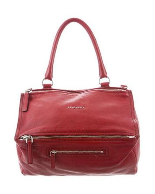 93bae062c4 Givenchy - Metallic Pandora Crossbody Bag Red - Lyst ...