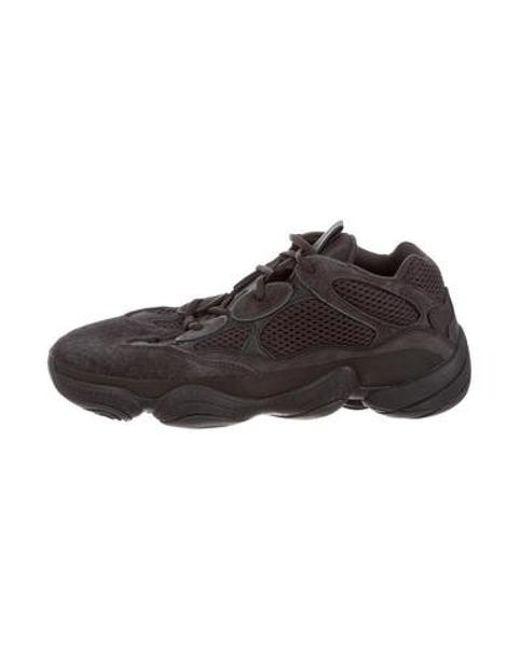 4a6d2da78 Yeezy - Black 2018 500 Utility Sneakers W  Tags for Men - Lyst ...