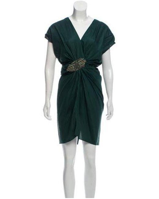 be373e9de56d Day Birger et Mikkelsen - Green Might Mystique Silk Dress W  Tags - Lyst ...