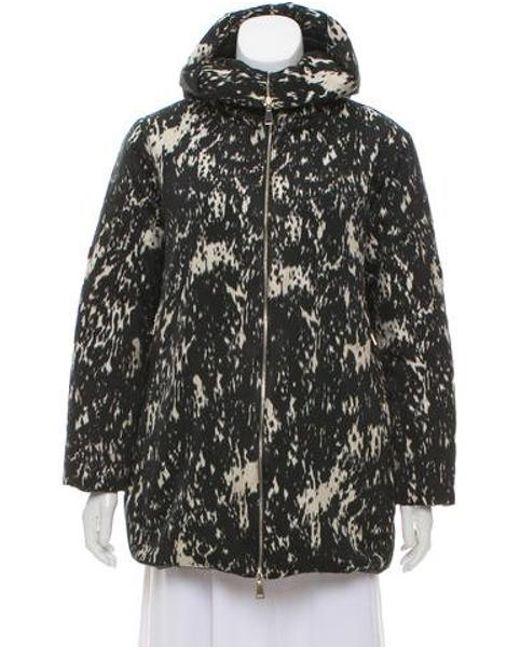 Moncler - Black Colliers Reversible Down Coat - Lyst