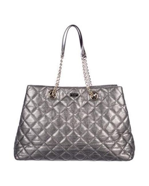 Kate Spade Metallic Gold Coast Mne Bag Silver Lyst