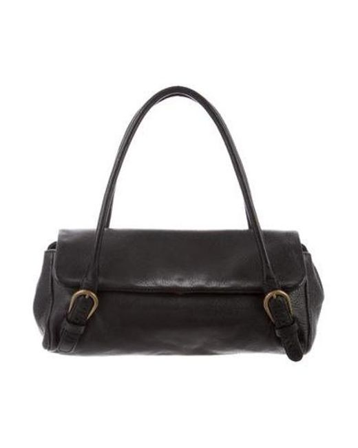9b8ba5dae397 Miu Miu - Black Miu Leather Handle Bag - Lyst ...