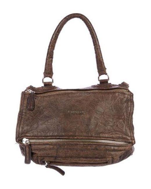 Givenchy - Brown Large Pandora Bag - Lyst ... 0bf718941a2e2