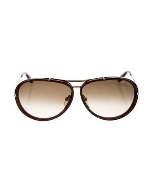 d4ae86fd6bc98 Tom Ford - Brown Cyrille Gradient Sunglasses for Men - Lyst ...