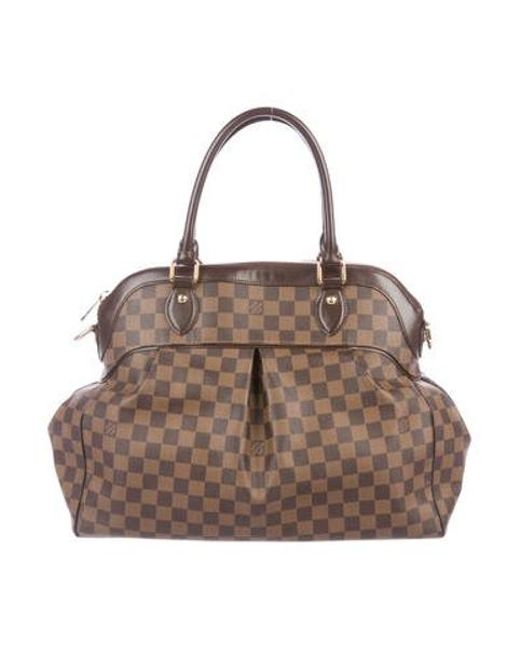 Louis Vuitton - Natural Damier Ebene Trevi Gm Brown - Lyst