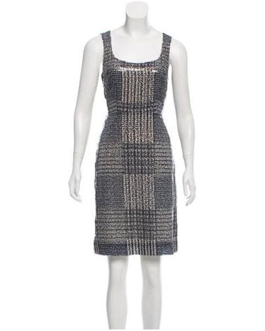 d9847f5e2c8a Tory Burch - Gray Bristol Sequin Dress W  Tags Grey - Lyst ...