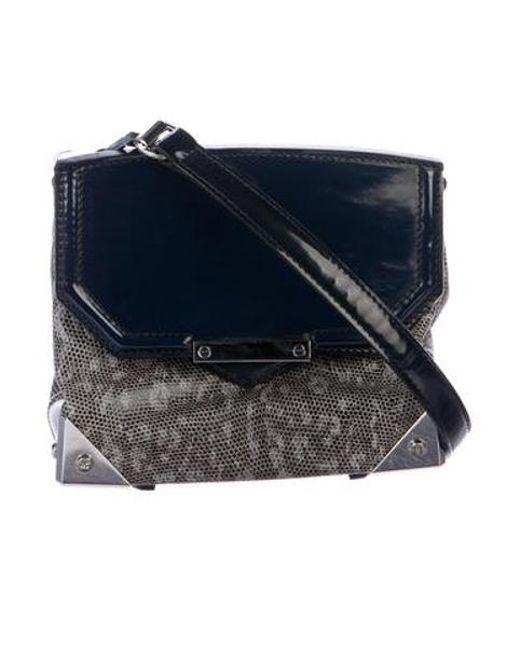 2557c35f9929 Alexander Wang - Metallic Embossed Marion Bag Grey - Lyst ...
