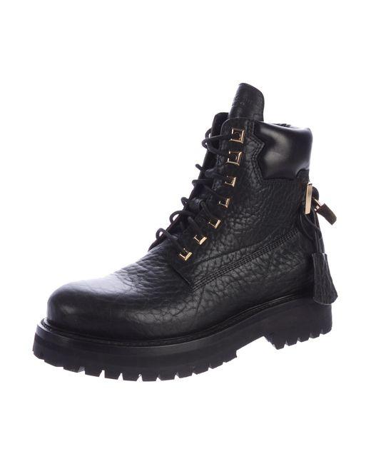 discount sale online Buscemi 2017 Lace-Up Combat Boots discount cheap cheap sale 100% authentic MopVUeLh