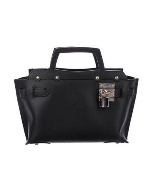 Golden Goose Deluxe Brand - Metallic Baby Carla Crossbody Bag Black - Lyst  ... e5792062e590b