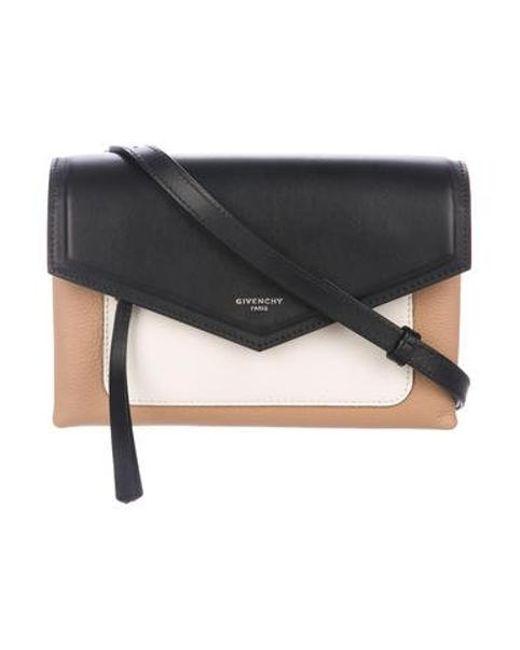 22310aca9e Givenchy - Metallic Duetto Crossbody Bag Black - Lyst ...