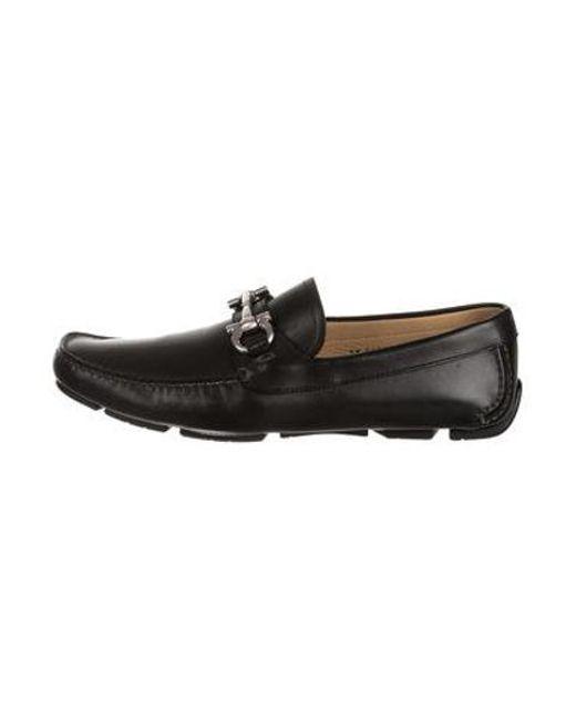 952922df35 Ferragamo - Black Parigi Gancini Driving Loafers W  Tags for Men - Lyst ...