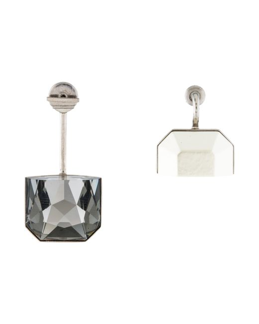 Dior | Metallic Set Earrings Silver | Lyst