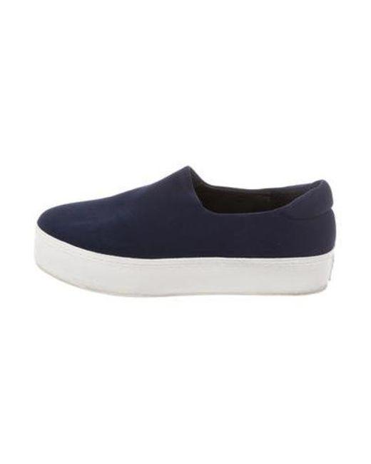 Opening Ceremony - Blue Platform Slip-on Sneakers Navy - Lyst