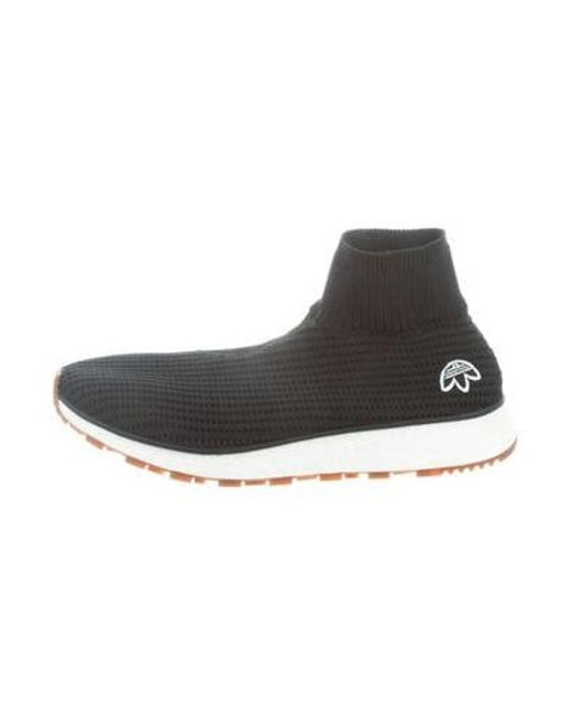 reputable site 2a961 55489 Alexander Wang - Black Run Clean Sneakers for Men - Lyst ...