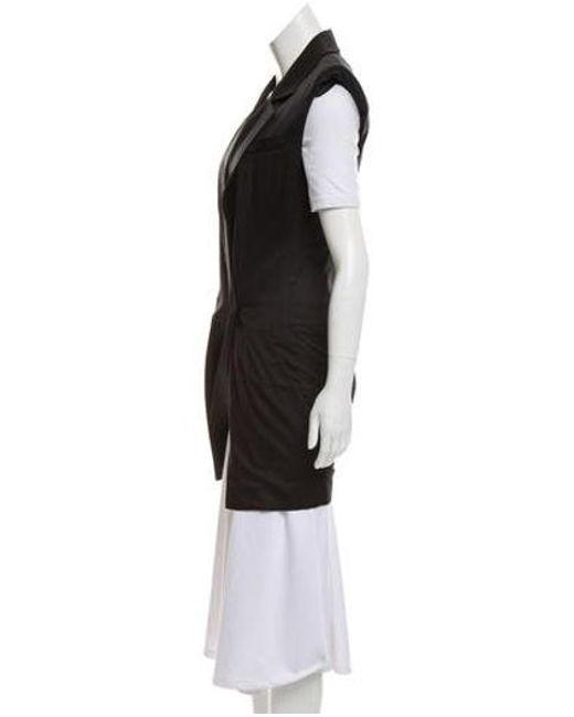 96cb0907019f ... Louis Vuitton - Black Notch-lapel Structured Romper - Lyst ...