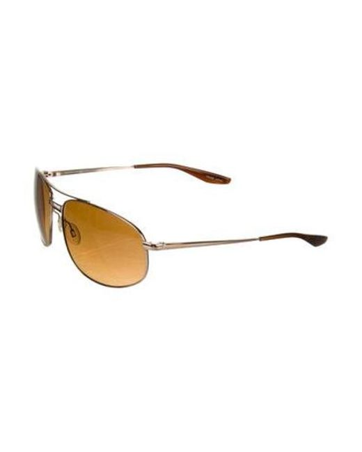 29ad8b0bc90 ... Barton Perreira - Metallic Duvall Tinted Metal Sunglasses Gold for Men  - Lyst ...