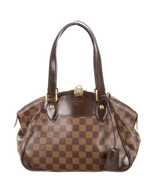 Louis Vuitton | Natural Damier Ebene Verona Pm Brown | Lyst