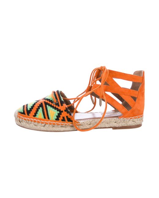 cheap sale with paypal clearance lowest price Aquazzura Woven Belgravia Espadrilles clearance visa payment free shipping collections Xa0HyDDG