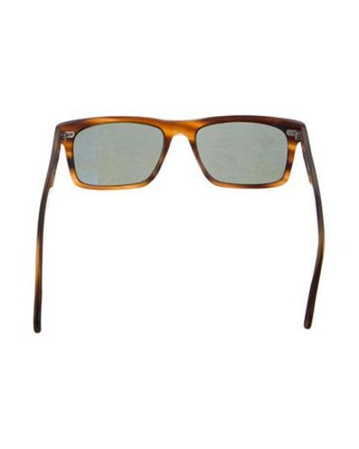 9a01784fdf ... Oliver Peoples - Brown Brodsky Polarized Sunglasses for Men - Lyst ...