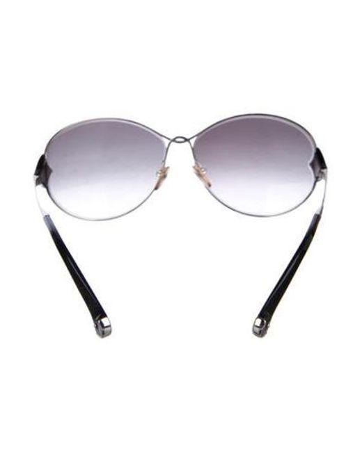 13e72b43749c ... Louis Vuitton - Metallic Daisy Gradient Sunglasses Silver - Lyst