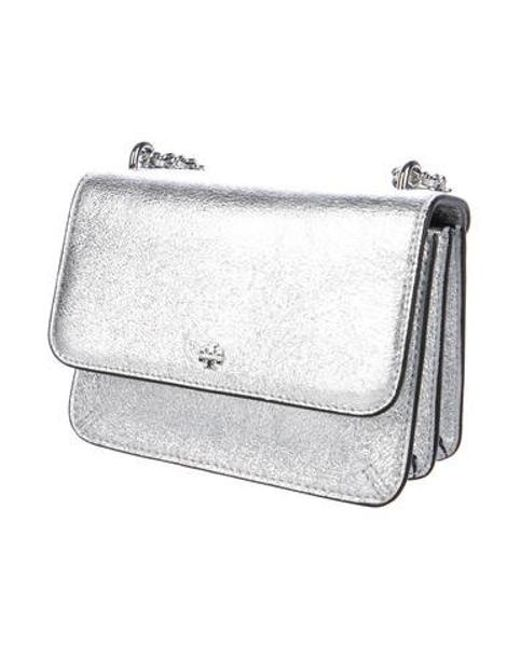 cb446d741703 ... Tory Burch - Metallic Mini Crossbody Bag - Lyst ...