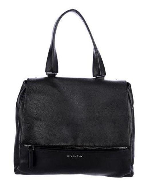 8931f4567ff Givenchy - Metallic Pandora Pure Satchel Brown - Lyst ...