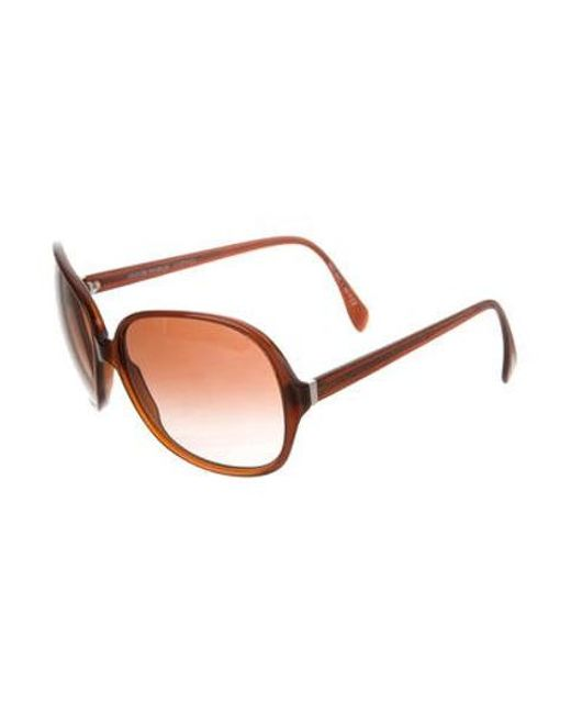 cd0b7cc88f7f ... Oliver Peoples - Metallic Isobel Gradient Sunglasses Brown - Lyst ...