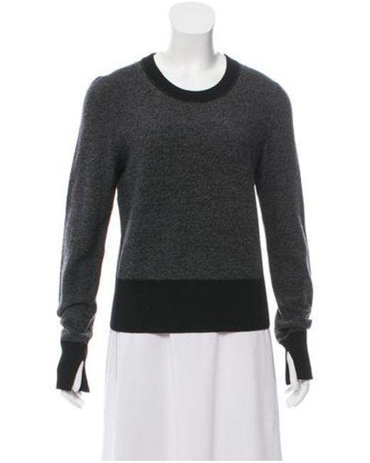 6363a7a6822 Rag   Bone - Gray Scoop Neck Merino Wool Sweater Grey - Lyst ...
