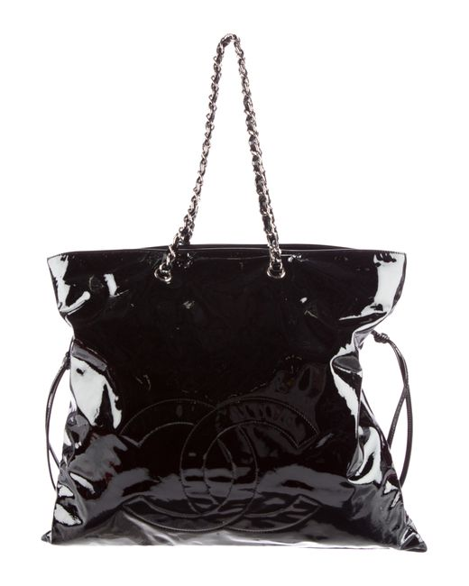 Chanel - Metallic Bon Tote Black - Lyst