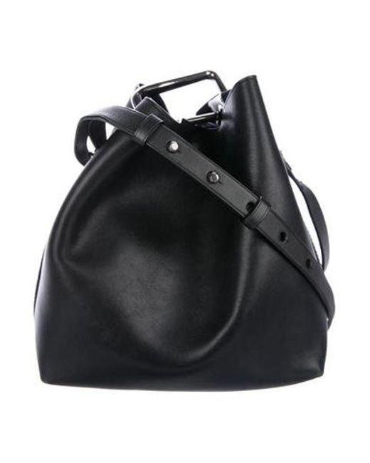 dcdefccb8e30 3.1 Phillip Lim - Metallic Quill Mini Bucket Bag Black - Lyst ...