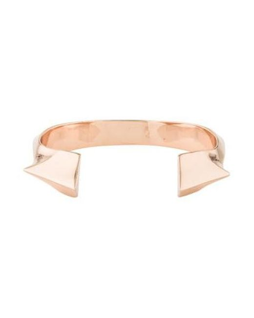 Jennifer Fisher - Metallic Geometric Cuff Rose - Lyst