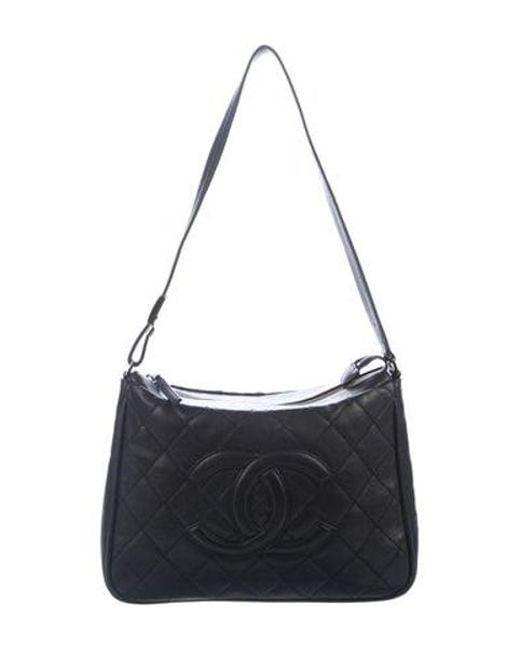 0962d4c59251 Chanel - Metallic Timeless Shoulder Bag Black - Lyst ...