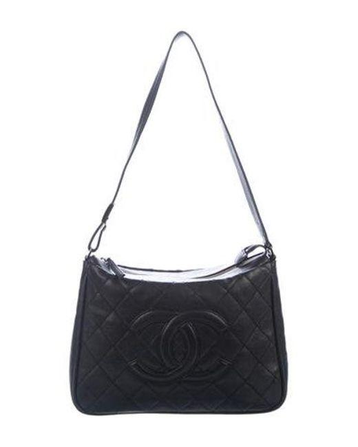 4e6e255970437a Chanel - Metallic Timeless Shoulder Bag Black - Lyst ...