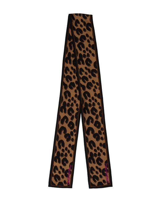 tassel trim printed trousers - Black Msgm oBuLOITj8