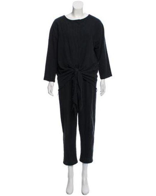 bc039520f66 Black Crane - Black Crane Long Sleeve Button-up Jumpsuit - Lyst ...