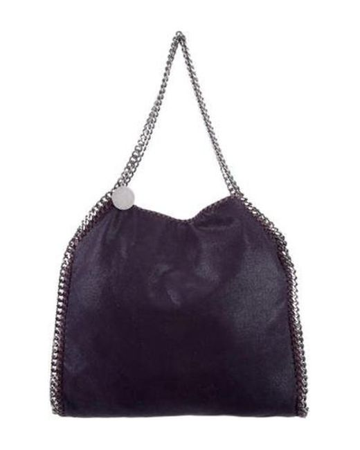 74c3c8134704 Stella McCartney - Purple Small Shaggy Deer Falabella Tote Violet - Lyst ...