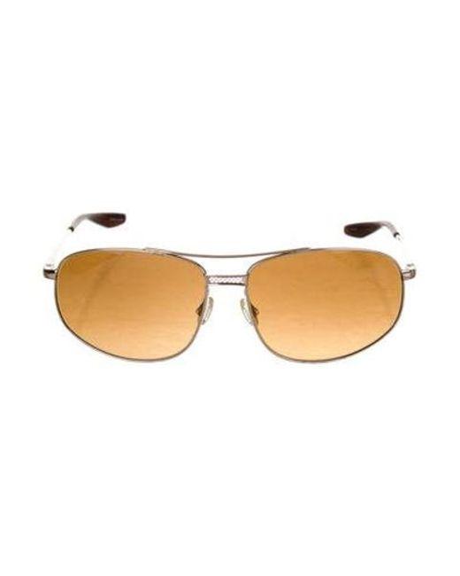 c8a36b0c049 Barton Perreira - Metallic Duvall Tinted Metal Sunglasses Gold for Men -  Lyst ...