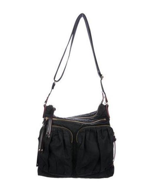 a78f9f375a4f MZ Wallace - Metallic Bedford Mia Nylon Crossbody Bag Black - Lyst ...