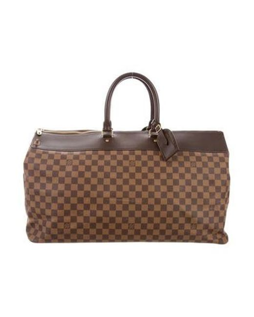 Louis Vuitton - Natural Damier Greenwich Gm Travel Bag Brown - Lyst