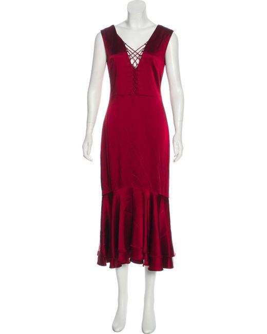 Jonathan Simkhai Sleeveless Midi Dress w/ Tags Discount 100% Guaranteed m8NiQqAF