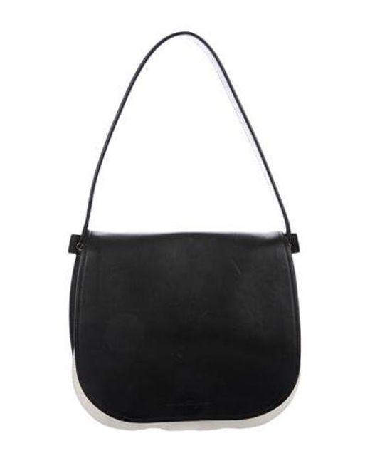 b50754fe0d61 Ferragamo - Metallic Neva Shoulder Bag Black - Lyst ...