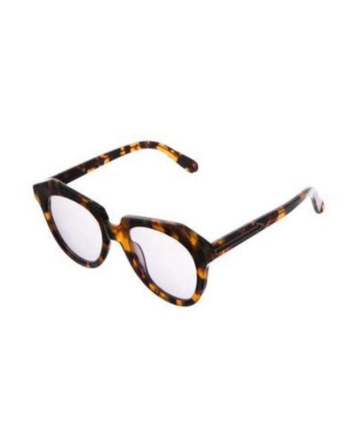 881aabe2cb62 ... Karen Walker - Natural Number One Tinted Sunglasses Brown - Lyst ...