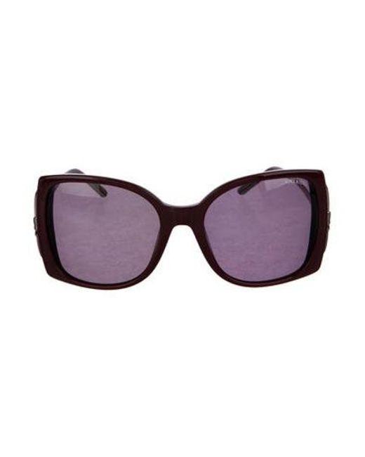 0eeb67b29f9 Nina Ricci - Black Oversize Tinted Sunglasses - Lyst ...