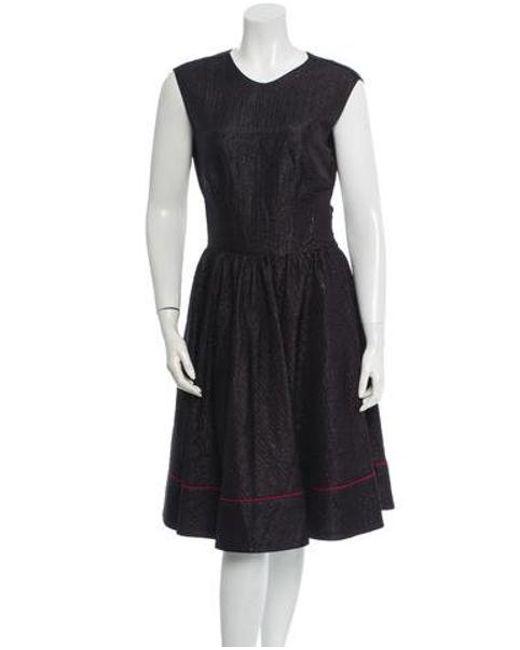 Sophie Theallet - Black Silk Dress W/ Tags - Lyst