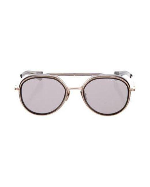 f4083c85a2e1 Dita - Metallic Spacecraft Reflective Sunglasses Grey - Lyst ...